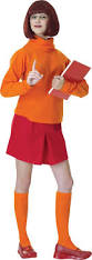 scooby doo velma costume for adults party city halloween