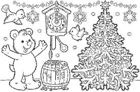 merry christmas tree coloring pages christian coloring pages