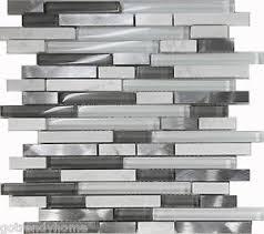 glass tile kitchen backsplashes pictures metal and white sle white glass stone metal linear glass mosaic tile kitchen