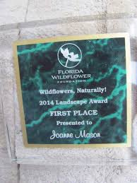 florida native nursery plant city fl plant city woman u0027s native wildflower garden wins statewide honors