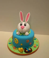 rabbit cake top easter bunny cakes cakecentral