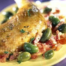 cuisine poulet recette poulet aux olives cuisine madame figaro