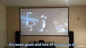 home made theater diy home theater screen youtube homes design inspiration