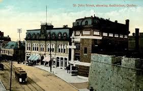 bureau architecte qu饕ec l édifice du ymca et l auditorium de québec avant 1930 vues