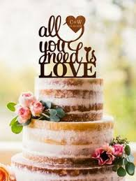 all you need is cake topper wedding mr mrs cake topper custom last name personalized wood cake