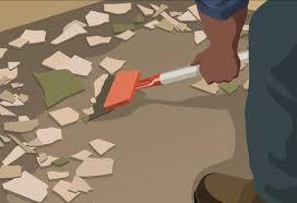 removal of ceramic tiles