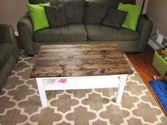 Diy Wood Plank Table Top by This Crazy Thing Called Life Coffee Table Makeover Wood Plank