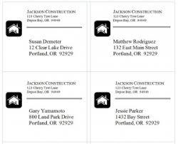 shipping label template word templates