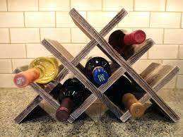 wine rack countertop wine rack wooden countertop wine rack