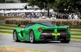 top 5 paint colors for a ferrari sports car