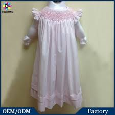 newborn baby cotton frock designs smocked bishop dress fashion