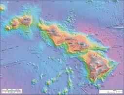 Hawaii World Map Hawaii Counties Road Map Usa