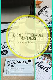 16 free father u0027s day printables bold it up