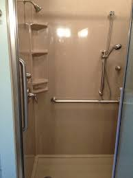 accessible shower doors jensen accessible shower nate u0027s custom renovations