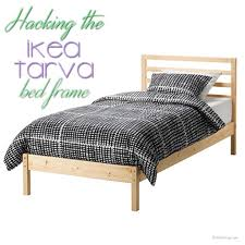 ikea bed an ikea tarva bed hack the birch cottage
