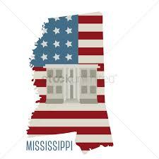 Mississippi State Map Mississippi State Map With Natchez National Historical Park Vector