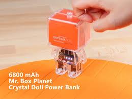 box planet doll power bank 6800mah