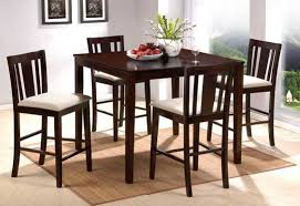 High Top Dining Room Table Sets High Dining Room Chairs New Design Ideas Elegant Tall Dining Room