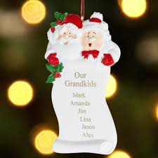 grandparent christmas ornaments personalized grandparents christmas ornament walmart