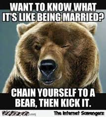 Funny Sarcastic Memes - want to know what it s like being married funny sarcastic meme pmslweb