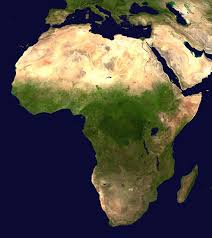 africa map deserts climate of africa