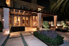 Mediterranean Patio Design Landscape Design Construction