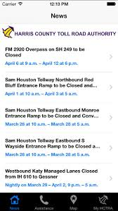 harris county toll road map hc toll road authority on the app store
