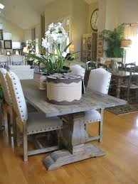 Grey Dining Room Furniture The Trestle Table I Do Absolutely This Tressle Table But