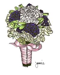 wedding flowers drawing wedding bouquet drawing the best painting and wedding bouquet