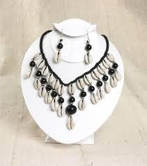 black shell necklace images Lester 39 s african bargains jpg