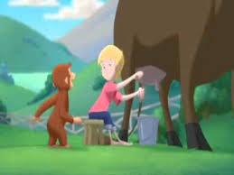 curious george 2 follow monkey scene