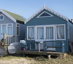 mudeford spit beach hut in dorset on sale for 280 000 daily