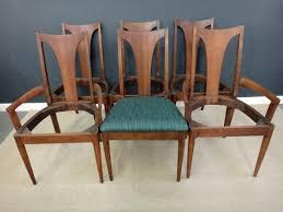 mid century broyhill saga dining chairs retrocraft design