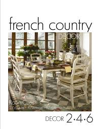 Home Decor In French How To Modernize Your Dining Room Country Decor Linens And Country