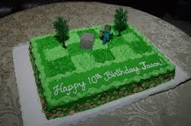 minecraft birthday cake ideas minecraft birthday cake for jason cakecentral