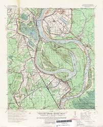 louisiana elevation map louisiana topographic maps perry castañeda map collection ut