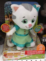 daniel tiger plush toys neighborhood friends plush katerina kittycat the daniel tiger u0027s