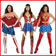 Superwoman Halloween Costumes 2017 Fashion Supergirl Superwomen Superman Superhero