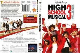 high school high dvd high school musical 3 2009 r1 dvd cover dvdcover
