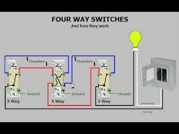 four way switches u0026 how they work youtube