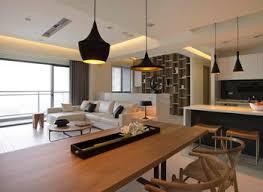 open plan kitchen dining living room modern centerfieldbarcom