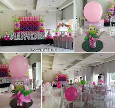 owl theme balloon decorations with styro letters at laguna garden