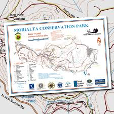 French Creek State Park Map Morialta Conservation Park Topographic Map The Friends Of The