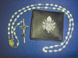 rosary from the vatican aid to the church in need vatican rosary of pope benedict