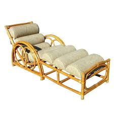 chaise half moon rattan chaise chair lounge indoor wicker