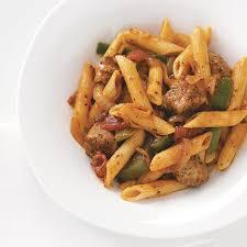 Pasta Sausage Sausage U0026 Penne Marinara Recipe Taste Of Home