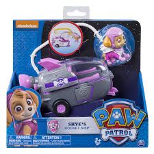 paw patrol skye u0027s rocket ship toy vehicle walmart canada