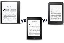 amazon kindle oasis 2017 vs kindle voyage vs kindle paperwhite