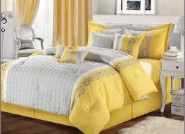 grey and yellow girls bedroom black floor purple wall brown velvet