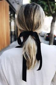 ribbon ponytail our favorite cool weather updos to try this winter southern living